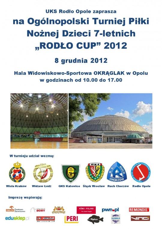 plakat Rodło Cup 2012