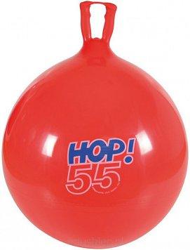 Piłka do skakania HOP 55 cm czerwona GYMNIC