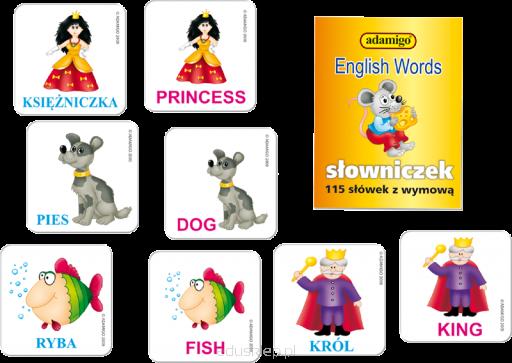 Angielskie słówka - memory