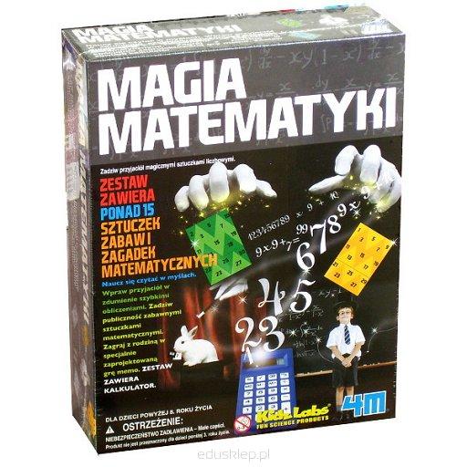 Magia matematyki zestaw sztuczek i zagadek matematycznych